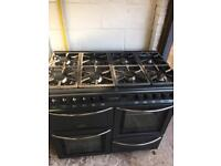 Lovely Black Belling Range Cooker Fully Working Order Just £195 Sittingbourne