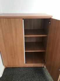 Office Lockable shelved Cupboard