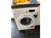9kg nearly new hot point washer
