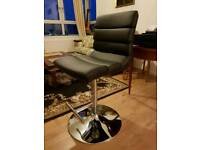 Fashion office chair BAYSIDE FURNISHING leather and steel