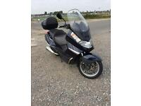 500cc maxiscooter