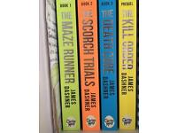 Set of maze runner books