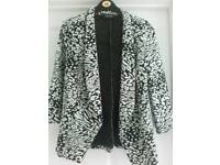 Ladies Black & White Jacket