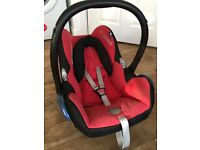 Maxi-cosi CabrioFix Car Seat - Red