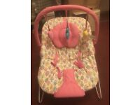 Baby bouncer good as new hardly used