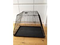 Sloping Dog Crate - Large (89 x 59cm)