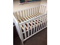 Baby cot. Bed. Almost brand new No use