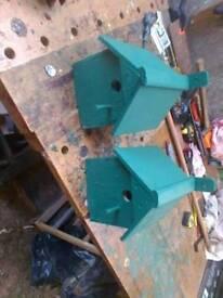 bluetit nesting boxes