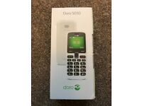DORA 5030 mobile phone + £10 Pay As You Go ( NEW & Boxed)