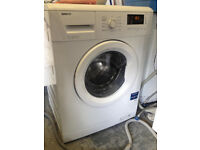 Reconditioned Beko WM71435W 7kg load 1300 spin washing machine with 3 month money back guarantee