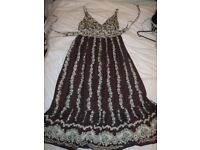 ZARA Boho style maternity dress
