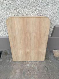 Oak veneer table tops