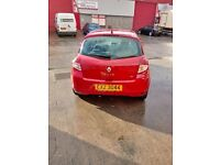2011 Red Renault Clio. Good condition