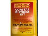 Coastal Distress Flare Kit for Speedboat/ Yacht/Fishing Boat/Rib/Sib/ Dingy Sail Boat