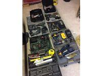Job lot drills cordless saw