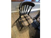 Mixed Set High Back Chairs