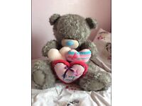 EXTRA LARGE ME TO YOU TATTY TED BEAR