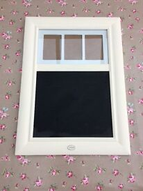 Picture frame style chalk board