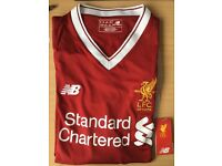 Authentic Liverpool 17/18 Home Shirt