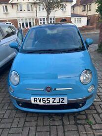 image for Gorgeous blue Fiat, 500, Hatchback, 2015, Manual, 875 (cc), 3 doors