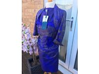 Amazing Designer Mother Of The The Bride/Groom Wedding Outfit 100%Silk