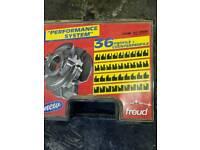 Spindle moulder tooling.