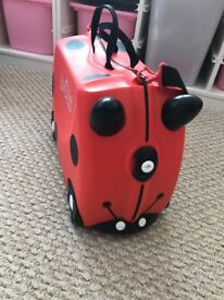 Trunki Red and Black Harley Ladybird - unisex