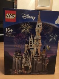 BRAND NEW LEGO DISNEY castle 71040 - never opened -
