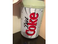 Diet Coke fridge
