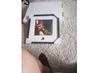 David Bowie Ziggy Stardust Limited Edition Framed Stamp