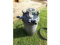 Laguna pressure flow filter 5000 UVC