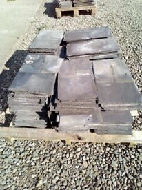 Reclaimed Welsh Slate Roofing Tiles 9in x 16in