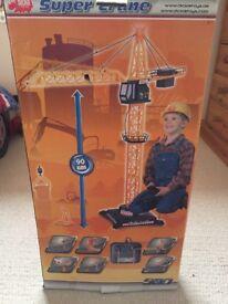 Brand New Remote Control 90 cm Tall Super Crane (Still boxed- unopened)