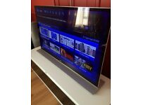 """55"""" Sony 3D TV sound bar blu-ray player glasses REDUCED"""