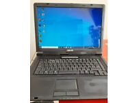 Asus X58L Windows 10 64 bit Laptop 500GB HD 3GB RAM INTEL 2.00 Ghz used condition