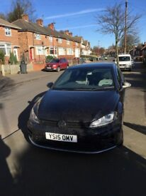 Vw golf r *BLACK* 2015 manual may px