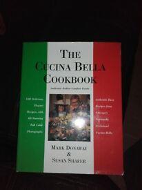Italian cookery book £2 each
