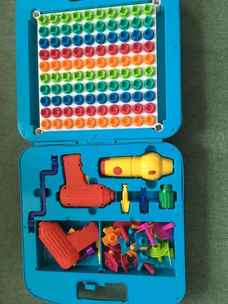 Design And Drill Power Tool Workshop Toy In Southampton Hampshire