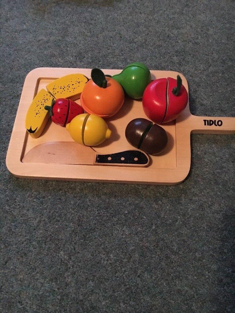Tidlo wooden fruit