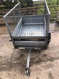 Daxara 148 tipping trailer metal