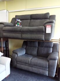 Lazy boy grey 3&2 power recliner sofa