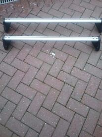 roof bars to fit vauxhall corsa