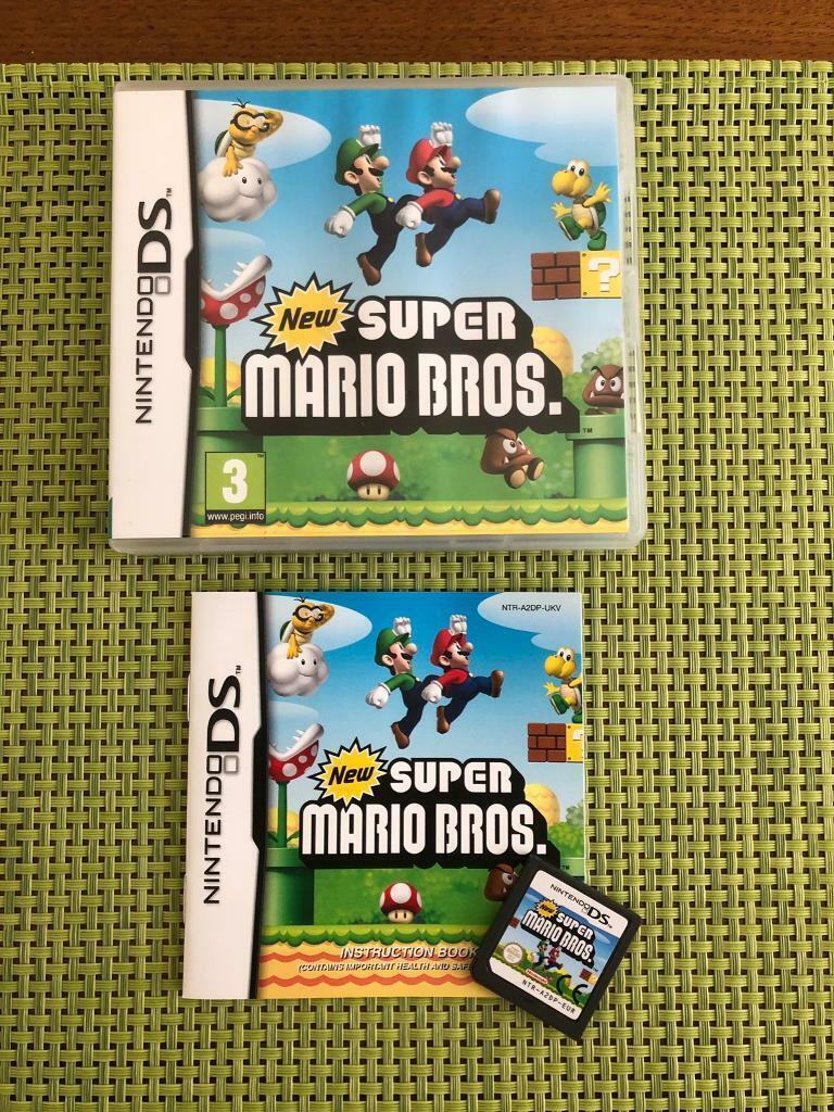 New Super Mario Bros DS - Nintendo DS | in Wymondham, Norfolk | Gumtree