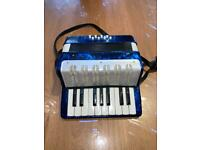 Child piano accordion / music