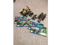 LEGO Legends of Chima 70001: Crawley's Claw Ripper and 70002: Lennox's Lion Attack