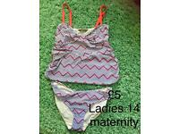 Maternity swim wear tankini