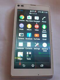 Sony Xperia M c1905 - 4GB - White (o2) Smartphone