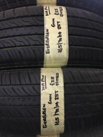 165/70/14 1657014 165:70:14 165-70-14 85T EVERGREEN PAIR OF 2 TYRES