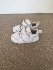 Two pair toddler trainers