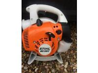 Stihl two stroke Petrol leaf blower like new
